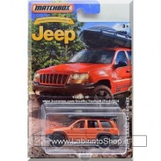 Matchbox - Jeep Grand Cherokee: Jeep Anniversary Edition Orange