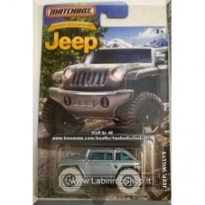 Matchbox - Jeep Grand Cherokee: Jeep Anniversary Silver Edition