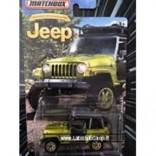 Matchbox - Jeep Grand Cherokee: Jeep Anniversary Green