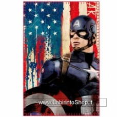 Captain America Civil War Fleece Blanket Captain America 100 x 150 cm