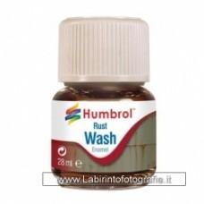 Humbrol AV0210 Enamel Wash Rust - 28ml Enamel Paint