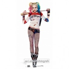 Harley Quinn (Margot Robbie) Suicide Squad Movie Lifesize Cardboard Cutout