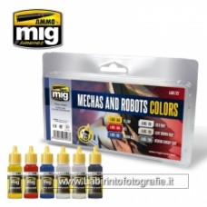Mig Robots and Mechas Colors