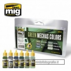 Mig Green Mechas Colors
