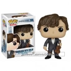 POP TV: Sherlock - Sherlock with Violin
