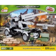 Flak 36/37 88 MM - on wheels 2338