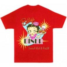 betty boop t-shirt rossa
