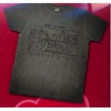 heidi maglietta grigia