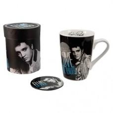 elvis presley love me tender mug coaster
