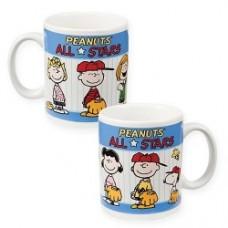 peanuts mug all stars