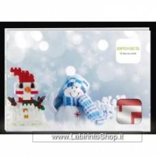 Build a Postcard Snowman