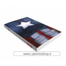 Captain America Chest notebook with light