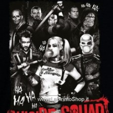 Suicide Squad Group Ha Ha Ha Black Boy Shirt