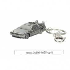 Back to the Future DeLorean Metal Keychain