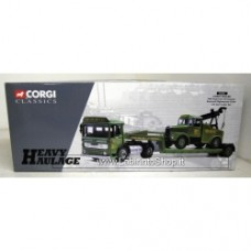CORGI 31003 AEC ERGOMATIC articulated Scammell highwayman crane and low loader set Chris Miller