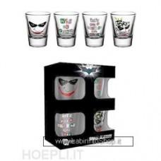 Batman - The Dark Knight - Joker MINI GLASSES SET