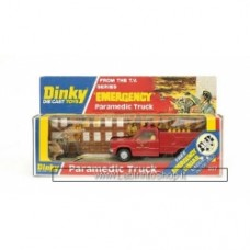 Dinky Toys - Paramedic Truck