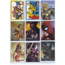 Marvel Trading Cards Set 01