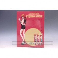 Lupin The Third 3rd Groovy Baby Shot Vol.4 Fujiko Mine Ver. Black Banpresto
