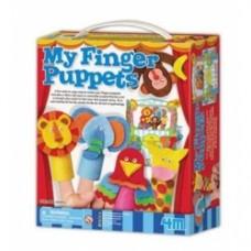 my fingers puppets kit per costruire marionette da dito