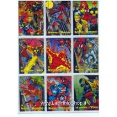 Marvel Trading Cards Set 11
