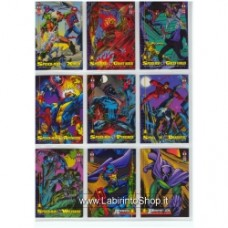 Marvel Trading Cards Set 12