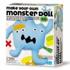 make your own monster doll kit crea mostri