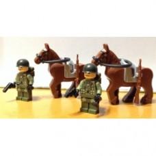 Brick-one Americani fanteria - A Cavallo