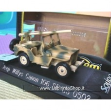 Verem Jeep Willys Canon 106