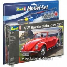 Revell Model Kit - VW Beetle Cabriolet 1970 - 1:24 Scale kit completo