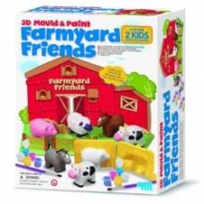 farmyard friends costrisci i tuoi animali della fattoria