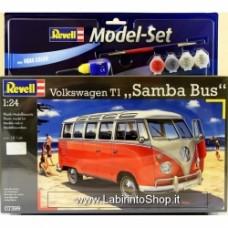 """Revell Model Kit - VW T1 """"Samba Bus"""" - 1:24 Scale"""