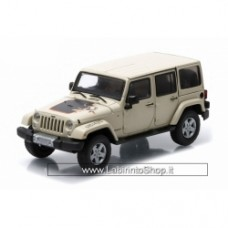 Greenlight 2011 Jeep Wrangler Unlimited Mojave Edition in Sahara Tan