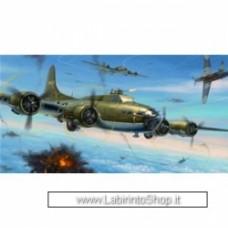 HONG KONG MODEL: 1/32  B-17E/F Flying Fortress (Pacific Theatre, B-17F Memphis Belle e Knock-out Dropper)