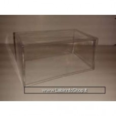 Show case without baseplate 1/43 Inner measurement 13.4 X 7,5 X 6.5 CM