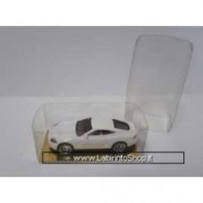 Plastic display box 7.9cm x 4,0cm x 2.9cm