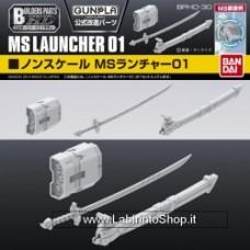 Builder's part HD MS Launcher 01 Bandai