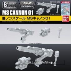 Builder's part HD MS Cannon 01 Bandai