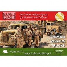 PLASTIC SOLDIER CO: 1/72 German medium trucks