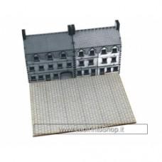 4GROUND: marciapiedi larghezza piazzale in legno precolorato
