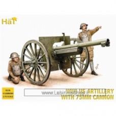 Hat 1/72 WW1 US Artillery