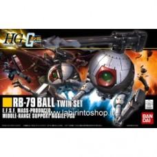 Gundam High Grade RB-79 Ball Twin Set By Bandai 1/144