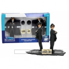 The Blues Brothers: Jake and Elwood - 2 Figures Set