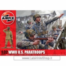 Airfix 1:32 WWII US Paratroopers A-02711