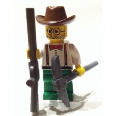 Cowboy 01 Minifigure Lego