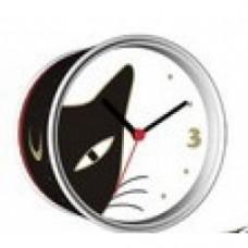 orologio in lattina gatti