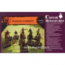 Caesar Miniatures 1/72 Modern Zombies