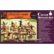 Caesar Miniatures 1/72 UNDEAD CAMP: ZOMBIES
