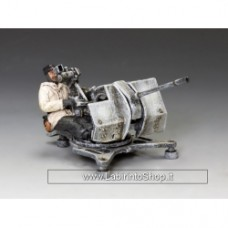2cm.Flak38 Gun & Seated Gunner