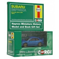 CORGI Haynes Subaru Impreza 1:43 Scale Book and Die Cast Vehicle Gift Set